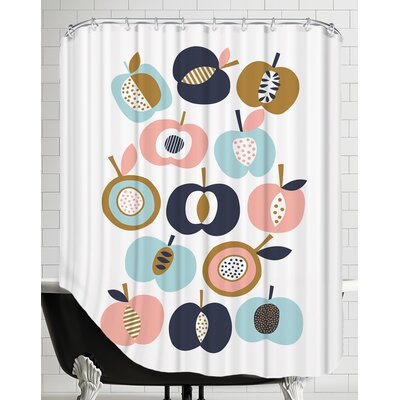Pommes Shower Curtain