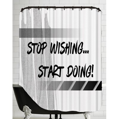 Graphic Art Start Doing Shower Curtain