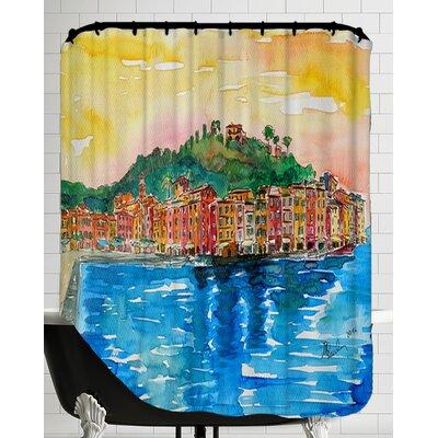 Picturesque Portofino Ligure Italy 2 Shower Curtain