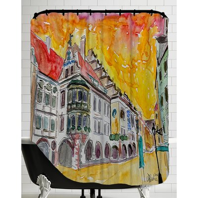 Munich Hofbrauhaus Sunset Am Platzl Shower Curtain
