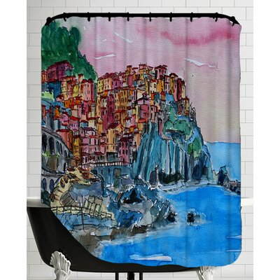 Manarola Cinque Terre Dream Shower Curtain