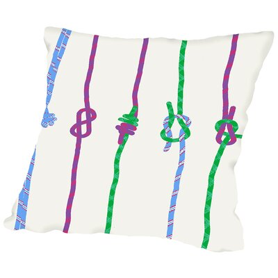 Knots Throw Pillow Size: 20 H x 20 W x 2 D