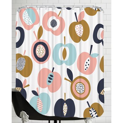 Pommes 1 Shower Curtain