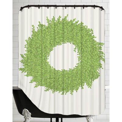 Wreath Shower Curtain