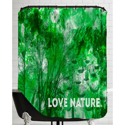Emotional Art Love Nature Shower Curtain