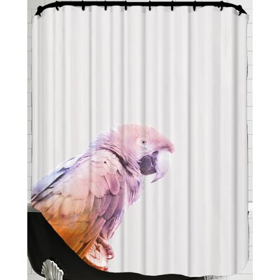 Water Parrot Shower Curtain
