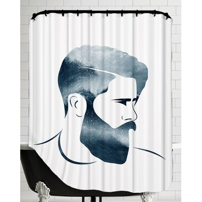 Man B Shower Curtain