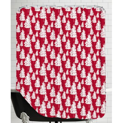 Holiday Forest Shower Curtain