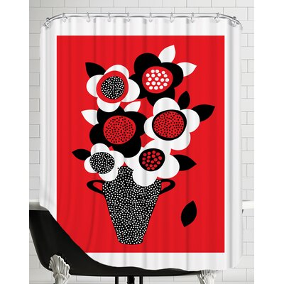 Vase 2 Shower Curtain