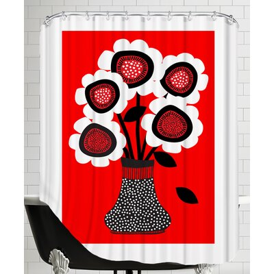 Vase 1 Shower Curtain