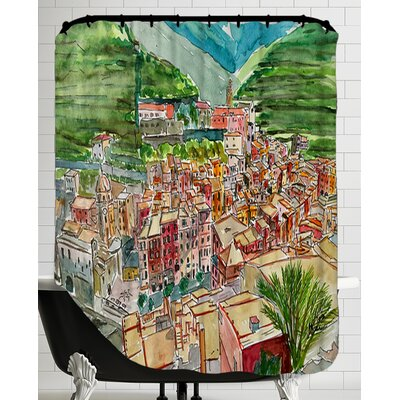 Vernazza A Dream of Romantic Italy Shower Curtain