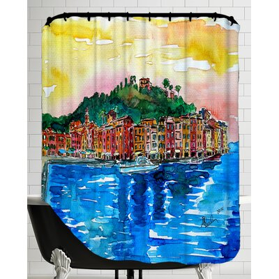 Picturesque Portofino Ligure Italy Shower Curtain