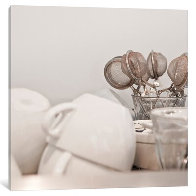 Tea Cups and Strainers Photographic Print on Wrapped Canvas ESHM9192 34339765