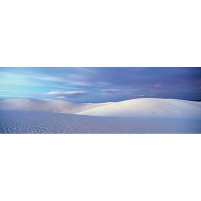 Landscape I, White Sands National Monument, New Mexico, USA Photographic Print on Wrapped Canvas ESHM9275 34340323