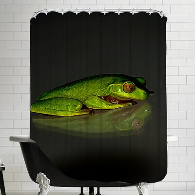Reptile Frog Shower Curtain