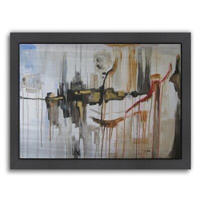 "'Paris Window' Framed Painting Print Size: 12"" H x 15"" W x 1"" D ESRB1185 34343113"