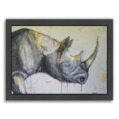 """'Resilience' Framed Painting Print Size: 12"""" H x 15"""" W x 1"""" D ESRB1198 34343162"""