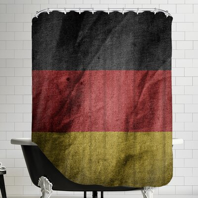 Germany Flag Shower Curtain