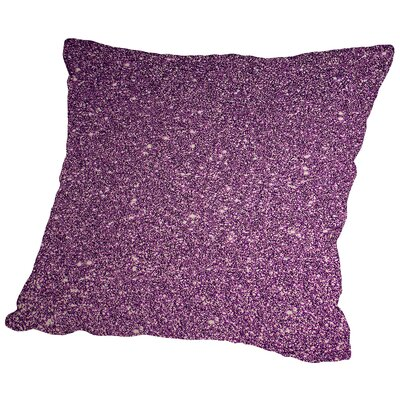 Shiny Throw Pillow Size: 14 H x 14 W x 2 D