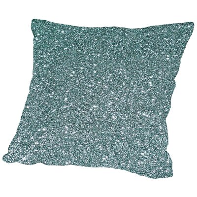 Sparkly Throw Pillow Size: 14 H x 14 W x 2 D