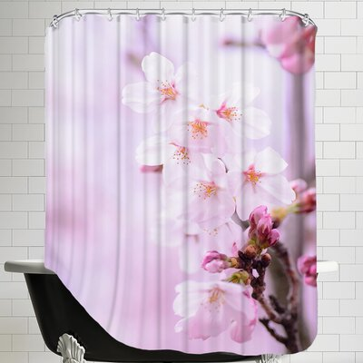 Cherry Blossom Japan Shower Curtain