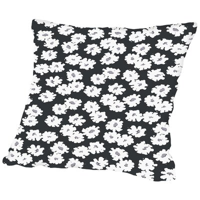 Posey Tossed Minis Throw Pillow Size: 14 H x 14 W x 2 D