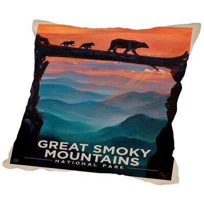GSM 2 Throw Pillow Size: 18 H x 18 W x 2 D