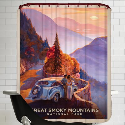 GSM Shower Curtain
