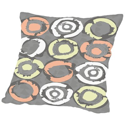 Gnarly Stumps Throw Pillow Size: 14 H x 14 W x 2 D