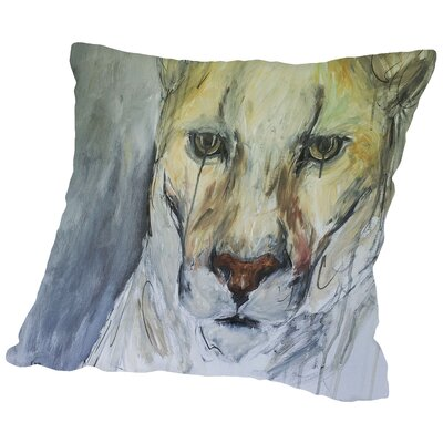 Too Late Throw Pillow Size: 18 H x 18 W x 2 D