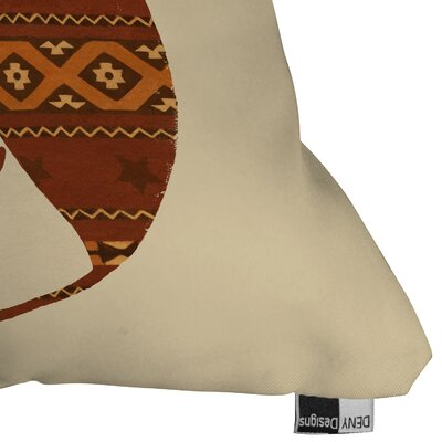 Owl Throw Pillow Size: 16 H x 16 W x 4 D