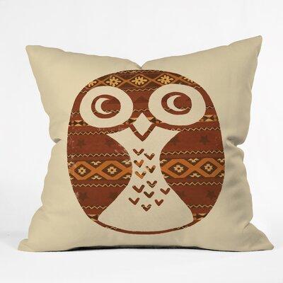 Owl Throw Pillow Size: 18 H x 18 W x 5 D