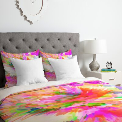 Adam Priester Color Explosion IV Duvet Cover Set Size: Queen