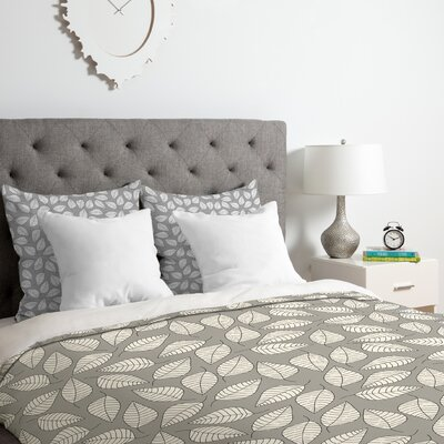 Leafy Duvet Cover Set Size: Twin/Twin XL