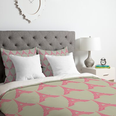 Oui Oui Duvet Cover Set Size: Queen
