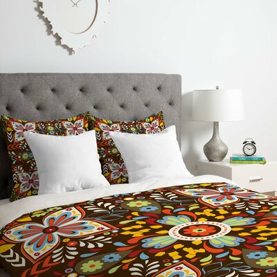 Khristian A Howell Wanderlust Duvet Cover Set Size: King