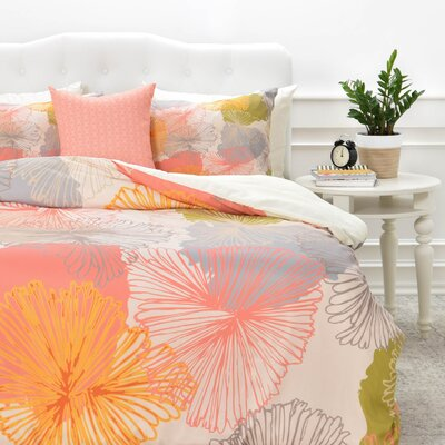 6 Duvet Cover Set Size: Queen