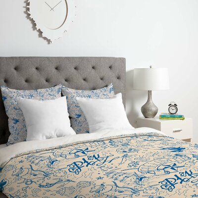 Tattoo 1 Duvet Cover Set Size: King