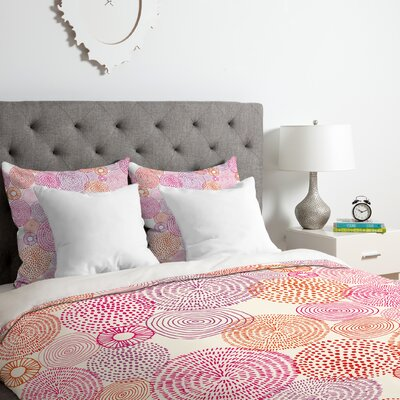 Circles in Colours I Duvet Cover Set Size: King