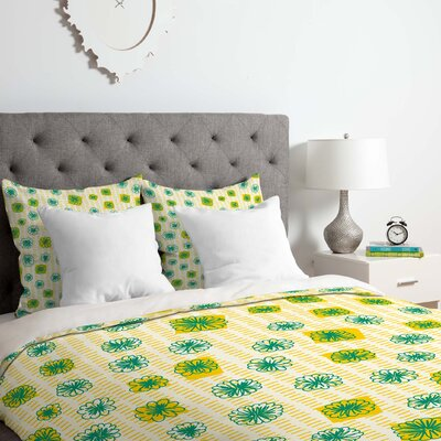 Florecillas 2 Piece Duvet Cover Set