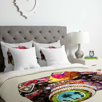 Picture This Duvet Cover Set Size: Twin/Twin XL