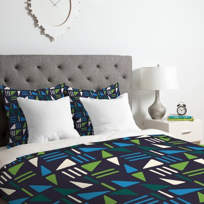 Zoe Wodarz Weekend Boat Trip Duvet Cover Set Size: Twin/Twin XL