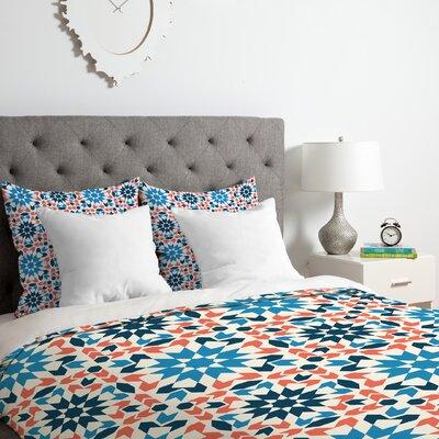 Sunbaked Arrow Tile Duvet Cover Set Size: King