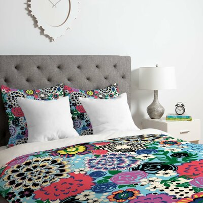 Khristian A Howell Valencia 1 Duvet Cover Set Size: Queen