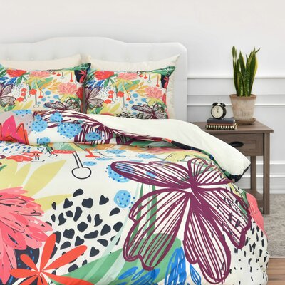 Khristian A Howell Honduras Duvet Cover Set Size: King