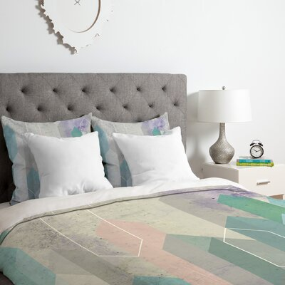 Raw Gems Duvet Cover Set Size: Twin/Twin XL