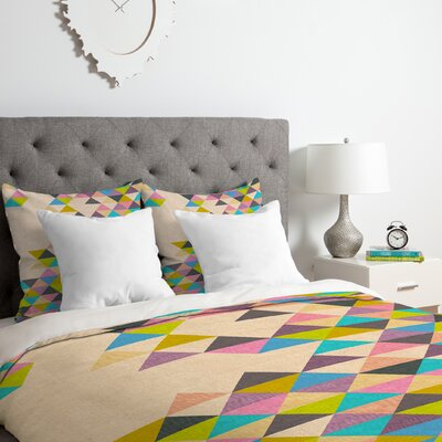 Completely Incomplete Duvet Cover Set Size: Queen
