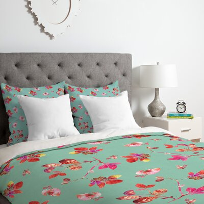 Bloom II Duvet Cover Set Size: Twin/Twin XL