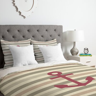 Stay 2 Duvet Cover Set Size: Twin/Twin XL