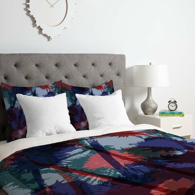 Thistles Duvet Cover Set Size: Twin/Twin XL